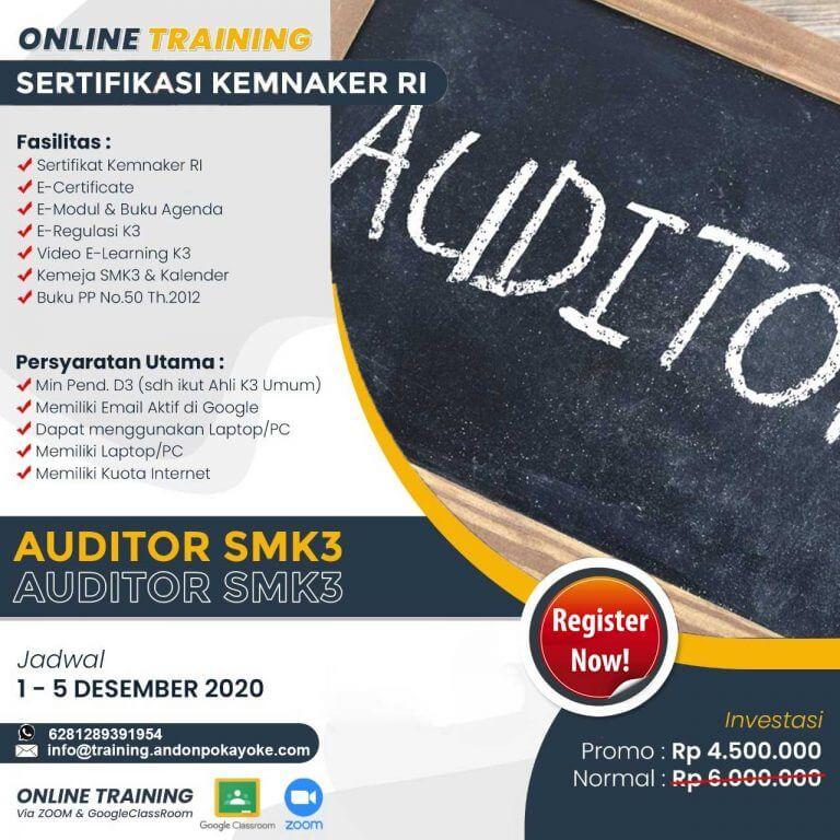 Online Training Auditor SMK3